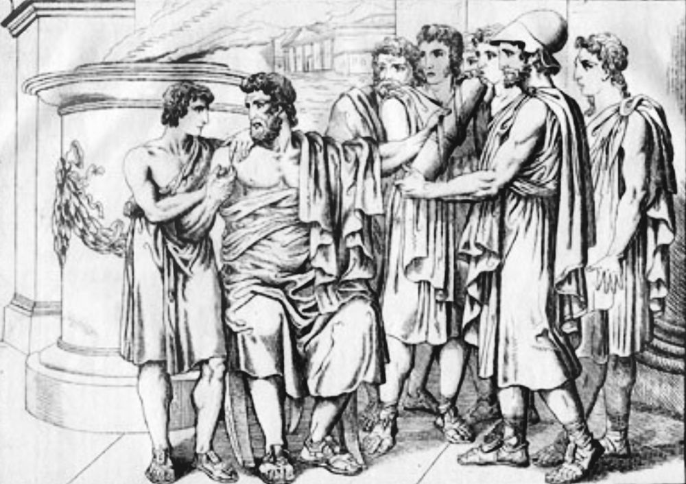 Lycurgus_gives_his_laws_to_the_people_before_his_death